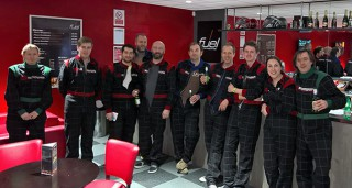 The team after another close race